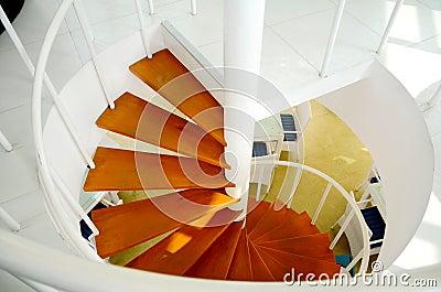In-door Spiral Staircase.