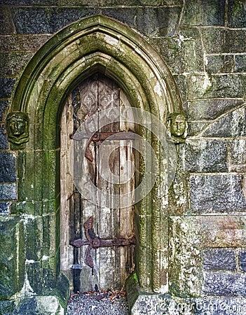 Door, St. Conans Kirk