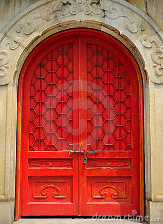 Door to the Memorial of Dr. Sun Yat-Sen