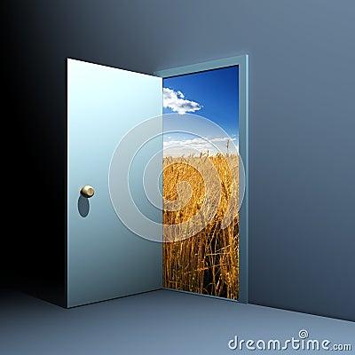 Free Door To Nature Stock Photos - 2744723