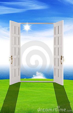 Free Door To New Dreams Stock Photo - 10974650