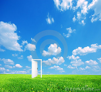 Free Door To New World. Stock Photography - 12572602