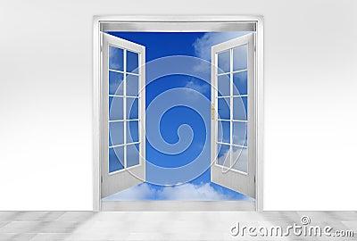 Door to sky.