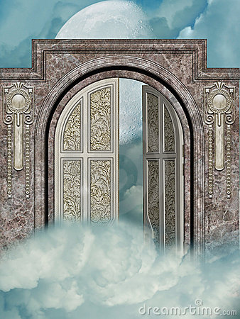 Free Door To The Heaven Royalty Free Stock Photography - 11095797