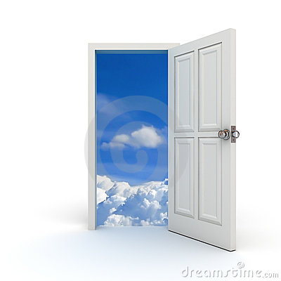 Free Door To The Sky Royalty Free Stock Image - 20755436