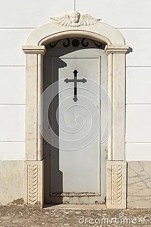 Door of a tomb