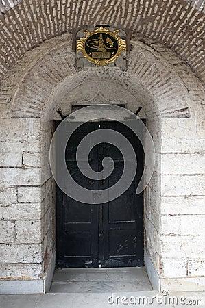 Door in the Topkapi Palace