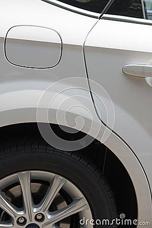 Door and tyre
