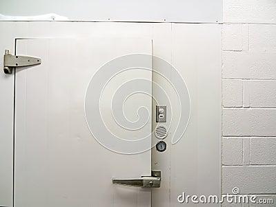 Door of Walk in cooler