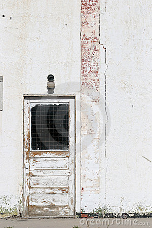Door white wall