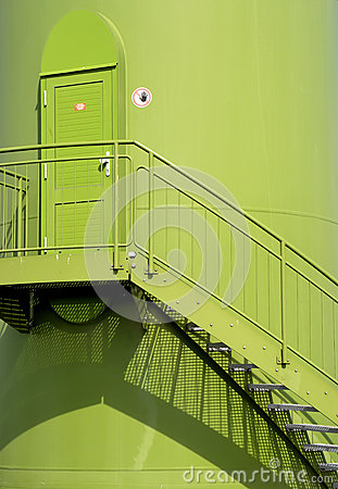 A door in a wind turbine