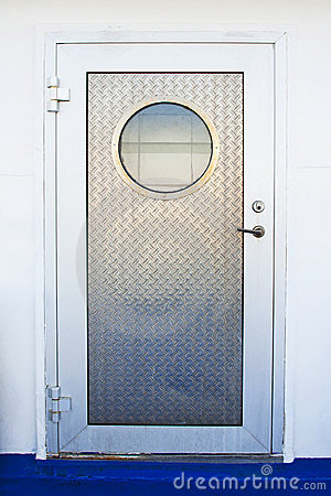 Free Door With Porthole Royalty Free Stock Images - 23479319