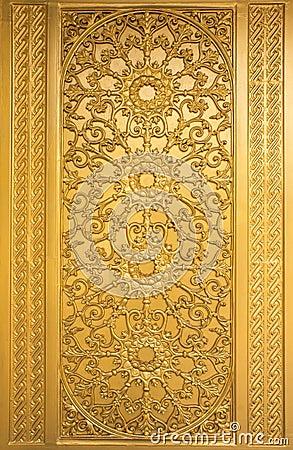 Door woodcarving