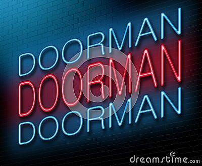 Doorman concept.