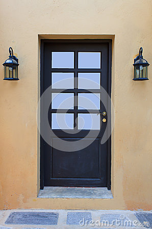 Free Doors And Lamps Stock Photography - 41367822