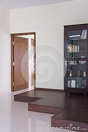 Doors and book shelf