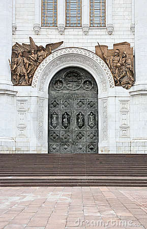 Free Doors In The Temple Stock Photography - 23095582