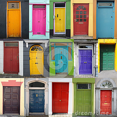 Free Doors Of Ireland Royalty Free Stock Images - 26618189