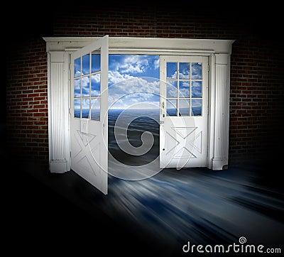 Doors opened