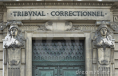Doors of Paris criminal court