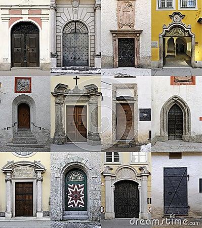 Doors from Salzburg
