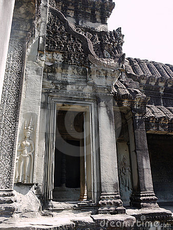 Doorway in Angkor Watt