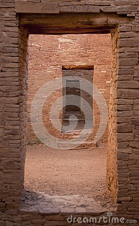 Doorway Chaco Culture National Historic Site