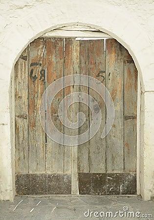 Doorway/Gate of Historic Building, Albania, Gjirokaster