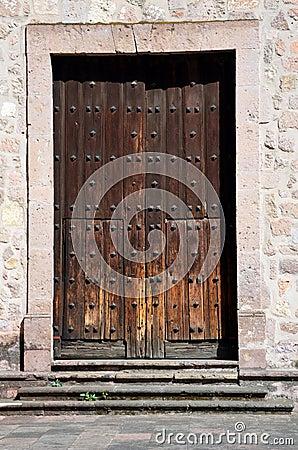 Doorway in historic church