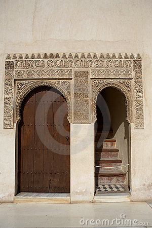 Doorway and islamic detail