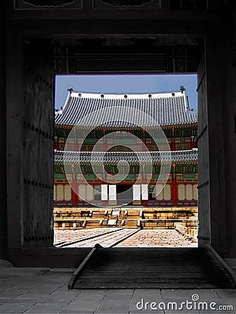 Doorway to the Grand Korean Palace