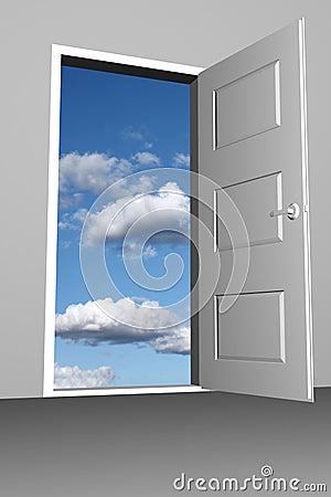 Free Doorway To Heaven Royalty Free Stock Photos - 10813288