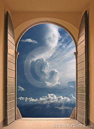Free Doorway To Serenity Royalty Free Stock Photo - 2539685