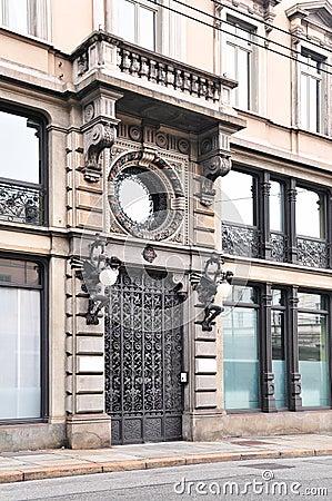 Doorway in Turin
