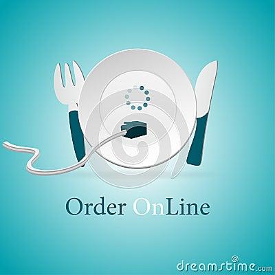 Doręczeniowy karmowy online rozkaz