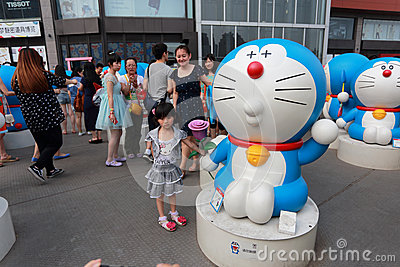 Doraemon exhibition Editorial Photography