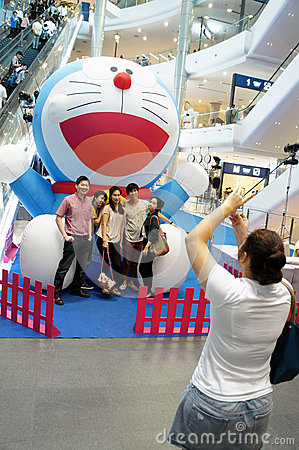 Doraemon Fair, Terminal 21 Editorial Stock Photo