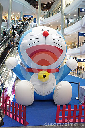 Doraemon Fair, Terminal 21 Editorial Image