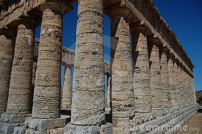 The Doric Temple at Segesta, Sicily