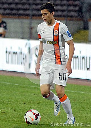 Dorin Rotariu in Dinamo Bucharest-Shaktar Donetk Editorial Image