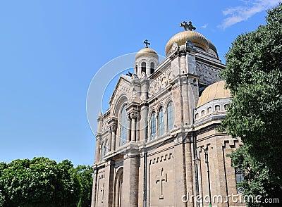 Dormition av den Theotokos domkyrkan i Varna, Bulgarien