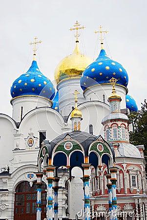 Free Dormition Church In Trinity Sergius Lavra Stock Image - 45754611