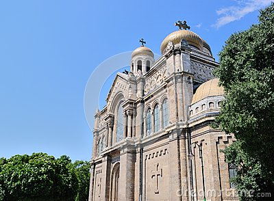Dormition da catedral de Theotokos em Varna, Bulgária