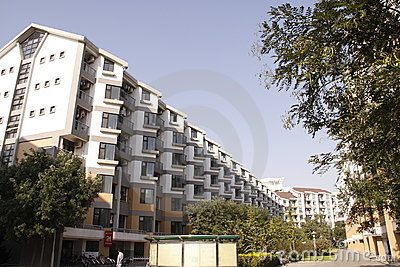 Dormitory for undergraduates in Tsinghua