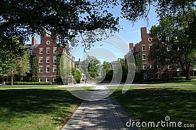 Dormitórios da faculdade