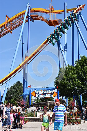 Free Dorney Park In Allentown, Pennsylvania Royalty Free Stock Images - 98303379