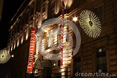 Dorotheum auction house in Vienna - Austria Editorial Stock Photo