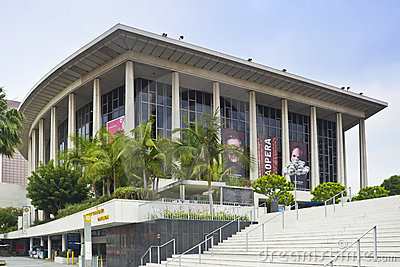 Dorothy Chandler Pavilion in Los Angeles Editorial Photography