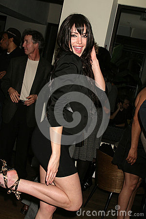 Dorothy Valentine  at Charmaine Blake s Birthday Party, Cafe Roma, Beverly Hills, CA. 01-13-10/ImageCollect Editorial Image