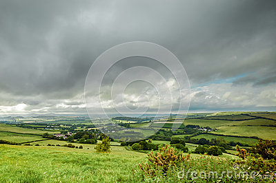 Dorset Landscape Stock Photos - Image: 25372053